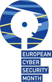 logo Wuropnean Cyber Security Month